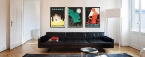 Dansk Plakatkunst serie