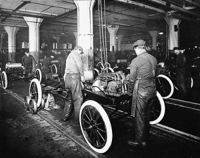 Ford T samlebånd