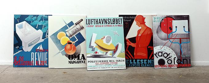 Steelposters - en rå nyhed fra Dansk Plakatkunst