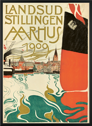 Fregatten Jylland reddet af Landsudstillingen Aarhus 1909