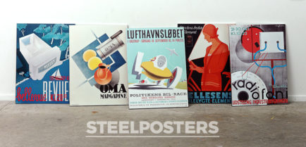 Steelposters hos Dansk Plakatkunst