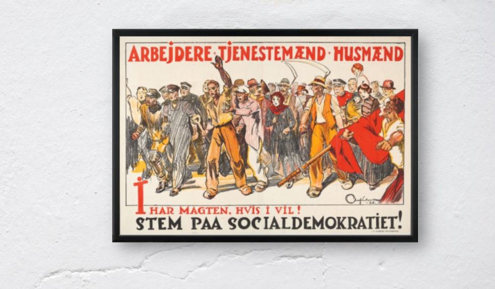 Gamle valgplakater efterlyses