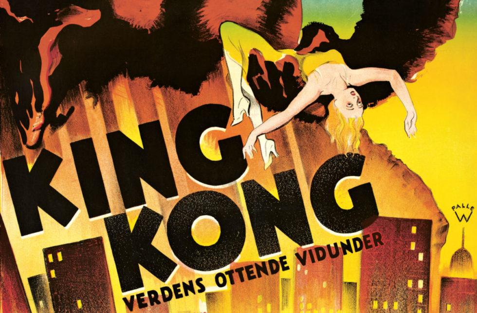 King Kong hos Dansk Plakatkunst