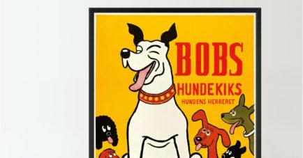 Bobs Hundekiks plakat