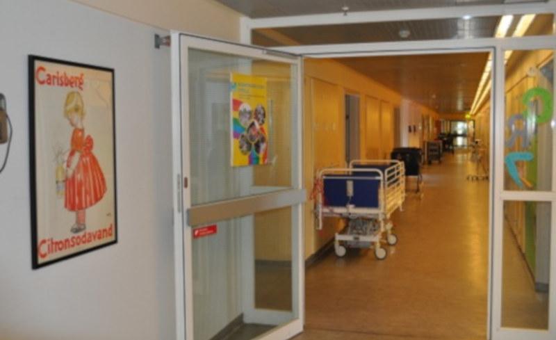Plakater til hospitalets børneafdeling