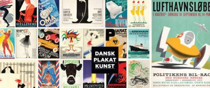 Dansk Plakatkunst Collage plakat