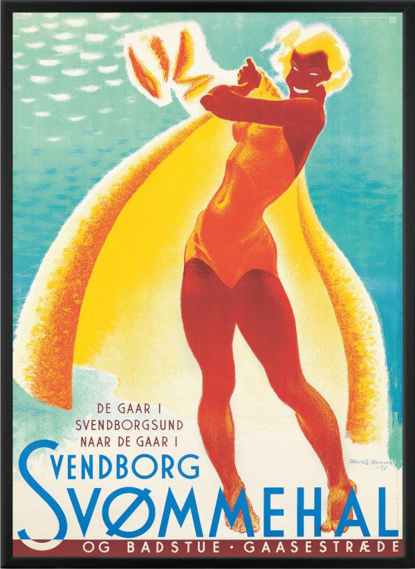 Svendborg Svømmehal af Henrik Hansen
