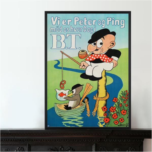 Vi er Peter og Ping plakat